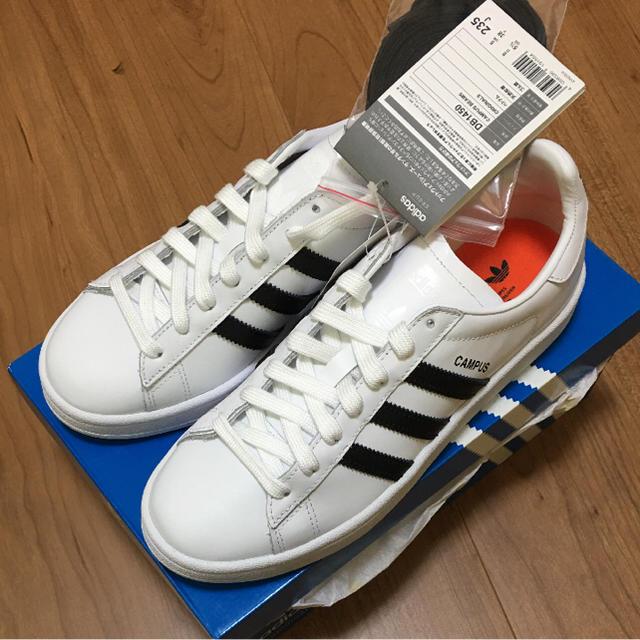 5ec1b91a5421 adidas - ☆新品☆adidas CAMPUS BEAMS ホワイト×ブラック 23.5cmの通販 ...