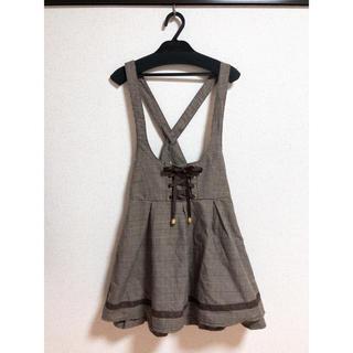 リズリサ(LIZ LISA)のリズメロ ジャンパースカート(ひざ丈スカート)