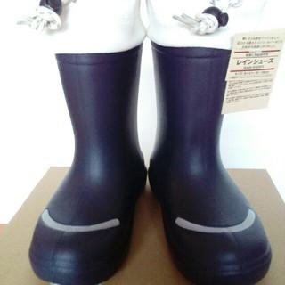ムジルシリョウヒン(MUJI (無印良品))の新品☆無印良品☆MUJI レインブーツ18~19cm レインシューズ 長靴(長靴/レインシューズ)