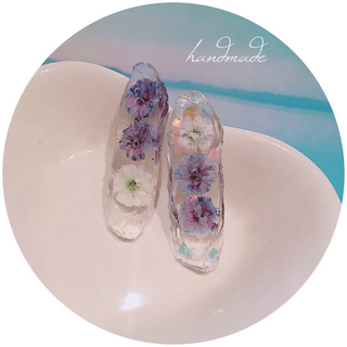 handmade flower pierce(ピアス)