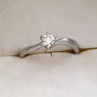 ヨンドシー(4℃)の4℃ リング Pt950 ダイヤモンド(リング(指輪))