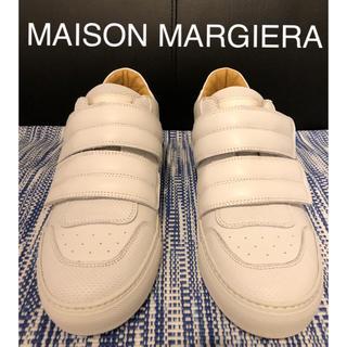 マルタンマルジェラ(Maison Martin Margiela)の【新品激安】 マルジェラ  レザースニーカー 26cm(スニーカー)