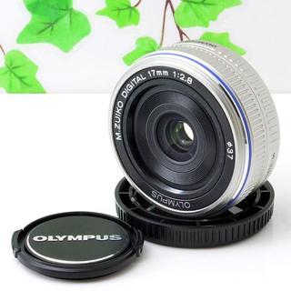 オリンパス(OLYMPUS)の✨広がる・ぼかせる広角単焦点✨オリンパス ミラーレス PEN用✨17mm 2.8(レンズ(単焦点))