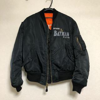 アルファ(alpha)のバットマンオフィシャル ma-1(フライトジャケット)