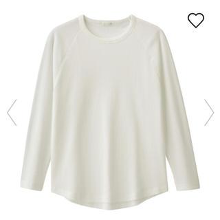 ジーユー(GU)のジーユー GU ワッフルビッグT(Tシャツ(長袖/七分))