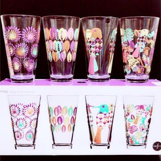Fantasy Glass ピンク 4個セット