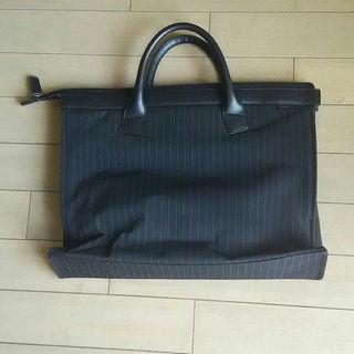リーガル(REGAL)の【kuroneko様専用】リーガル ビジネスバッグ メンズ 黒 ストライプ 新品(ビジネスバッグ)