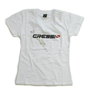 クレッシーサブ(CRESSI-SUB)のクレッシー 半袖Tシャツ CRESSI レディース Sサイズ(Tシャツ(半袖/袖なし))