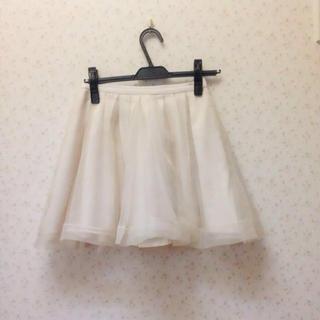 マーキュリーデュオ(MERCURYDUO)のMERCURYDUO♡チュールスカート(ミニスカート)
