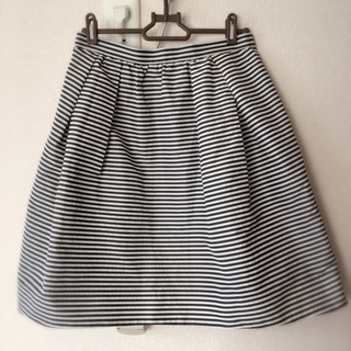 デミルクスビームス(Demi-Luxe BEAMS)のボーダー  スカート  ビームス  (ひざ丈スカート)
