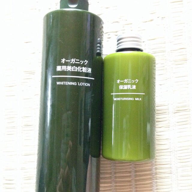 MUJI (無印良品)(ムジルシリョウヒン)の無印良品オーガニック薬用美白化粧液&乳液 コスメ/美容のボディケア(その他)の商品写真