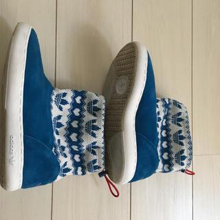 アディダス(adidas)のアディダス スノーブーツ 22.5 美品(ブーツ)