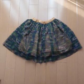 ブリーズ(BREEZE)のBREEZE カモフラチュールスカート120(スカート)
