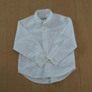 エミスフィール(HEMISPHERE)の110cm  白シャツ(Tシャツ/カットソー)