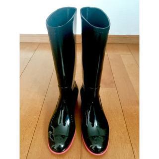 シャネル(CHANEL)のCHANEL   ココマーク  レインブーツ(レインブーツ/長靴)