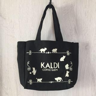 カルディ(KALDI)のmarukoさん専用❤︎未使用・新品KALDI2018ネコの日バック(トートバッグ)