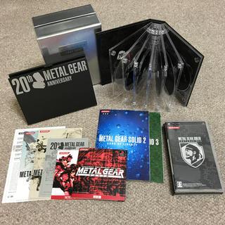 プレイステーション2(PlayStation2)の美品☆METAL GEAR 20thアニバーサリー限定コレクションBox(家庭用ゲームソフト)
