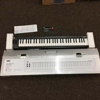 コルグ(KORG)の【りおさん専用】 KORG microkey Air 61 かなり美品です(MIDIコントローラー)