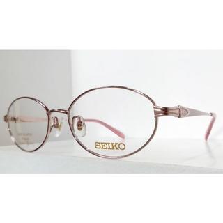 セイコー(SEIKO)のSEIKO  婦人メガネフレーム SE4014-PK-52(サングラス/メガネ)