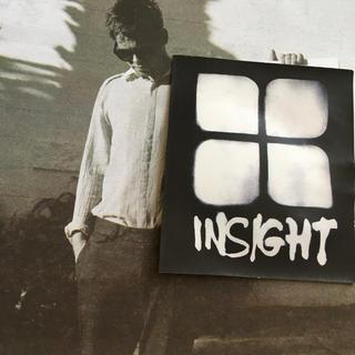 インサイト(INSIGHT)のinsightインサイトUS限定デザインアイコンwhiteステッカー(その他)