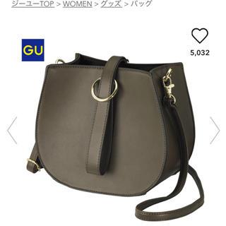 ジーユー(GU)のGU ハーフサークルショルダーバッグ(ショルダーバッグ)