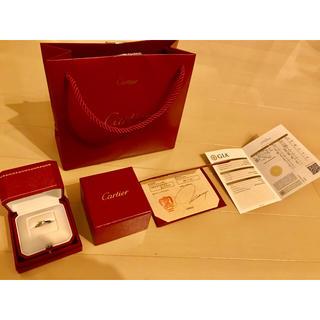 カルティエ(Cartier)の【新品】Cartier ソリテール ダイヤモンドリング(リング(指輪))