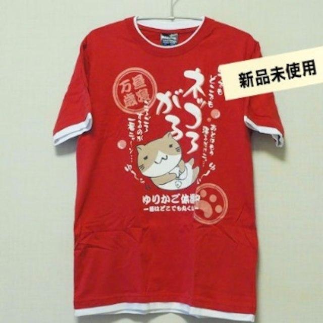 猫イラストtシャツ赤の通販 By Chacomamas Shopラクマ