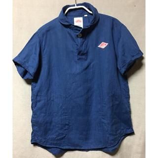 ダントン(DANTON)の【送料込】DANTON ダントン ラウンドカラープルオーバーシャツ(シャツ/ブラウス(半袖/袖なし))