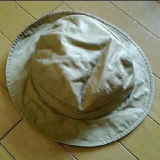ムジルシリョウヒン(MUJI (無印良品))の無印 リバーシブル 帽子 ハット たぶん54cm? キッズ こども(帽子)