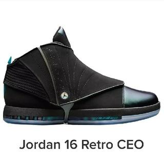 ナイキ(NIKE)の【完売品】Air Jordan 16 CEO 2300足限定(スニーカー)