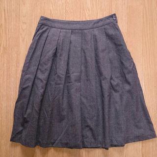 ムジルシリョウヒン(MUJI (無印良品))の【無印良品】 ウールスカート レディース(ひざ丈スカート)
