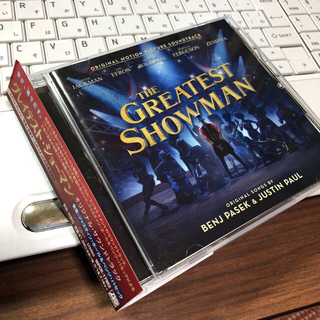 THE GREATEST SHOWMAN CD(映画音楽)