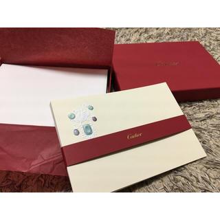 カルティエ(Cartier)の【未使用】カルティエ レターセット 10枚(カード/レター/ラッピング)