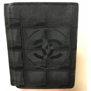 シャネル(CHANEL)のシャネル トラベルライン 三つ折り財布 中古品(財布)