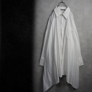 【変形】オーバーサイズ ビックシャツ(シャツ)