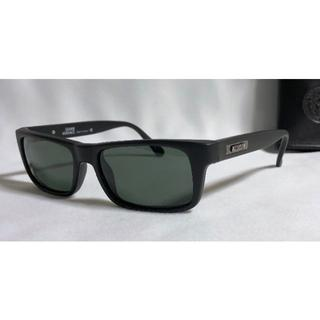 ジャンニヴェルサーチ(Gianni Versace)の正規美 ヴェルサーチ ロゴサングラス 黒×マッドブラック レディーガガ 眼鏡〇(サングラス/メガネ)