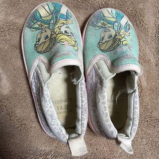 シマムラ(しまむら)のアナ雪 靴 14センチ 保育園用にいかがですか?(その他)