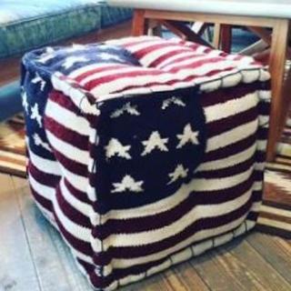 ダブルティー(WTW)のwtw  スツール  星条旗(スツール)