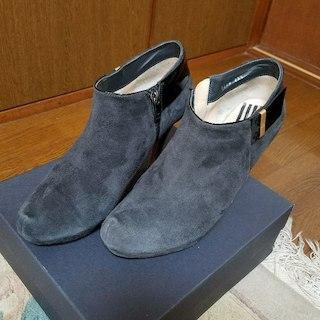 ランバンオンブルー(LANVIN en Bleu)のLANVIN en Blue ショートブーティ(ブーツ)