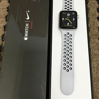 アップルウォッチ(Apple Watch)のApple Watch series3 セルラー アップルケア付(スマートフォン本体)