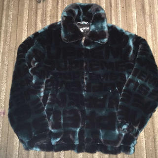 シュプリーム(Supreme)のSupreme Faux Fur Repeater Bomber Jacket (ブルゾン)