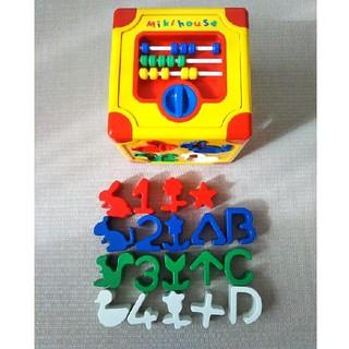 ミキハウス☆知育玩具☆ブロックパズル☆(知育玩具)