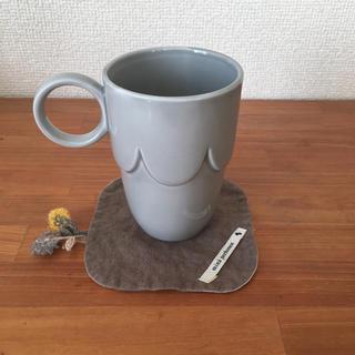 ミナペルホネン(mina perhonen)のミナペルホネン/マグカップ(pudding)&コースター(skip)セット(グラス/カップ)