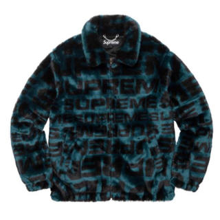 シュプリーム(Supreme)のSupreme Faux Fur Repeater Bomber Jacket(ダウンジャケット)