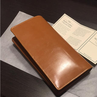 ホワイトハウスコックス(WHITEHOUSE COX)の新品 ホワイトハウスコックス 長財布 S8819 グレンロイヤル好きにも(長財布)