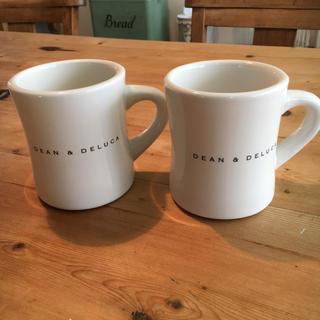 ディーンアンドデルーカ(DEAN & DELUCA)のDEAN &  DELUCA  マグカップ  2個セット(グラス/カップ)