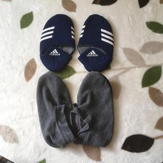 アディダス(adidas)の送料無料  2足セット  ルームシューズ アディダス(スリッパ/ルームシューズ)