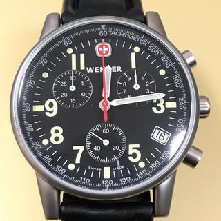 ウェンガー(Wenger)の【未使用】ウェンガー 7072X クロノグラフ クオーツ(腕時計(アナログ))
