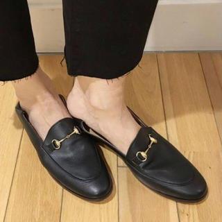 ドゥーズィエムクラス(DEUXIEME CLASSE)のCAMINANDO BIT スリッポン  36(ローファー/革靴)