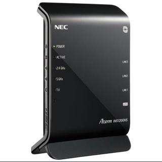 エヌイーシー(NEC)のPA-WG1200HS Aterm WG1200HS 10台セット(PC周辺機器)